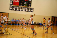 CCHS at SMHS volleyball