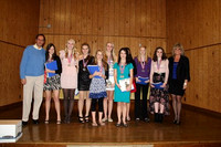 CCHS cross country banquet